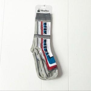 Disney Parks Monorail Socks NWT Rare Unisex Adult